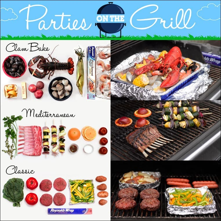Parties on the Grill with Reynold Wrap - grilling ideas and more at This Mama Cooks! On a Diet - thismamacooks.com #ReynoldsKitchens