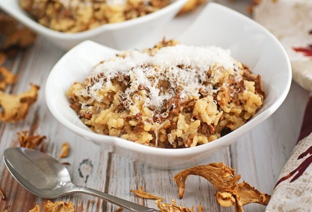 Mushroom Risotto at This Mama Cooks! On a Diet - thismamacooks.com