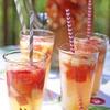 Mock Lemon-Limeade and Sparkling Apple Sangria
