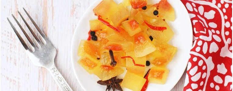 Spicy Watermelon Rind Pickles