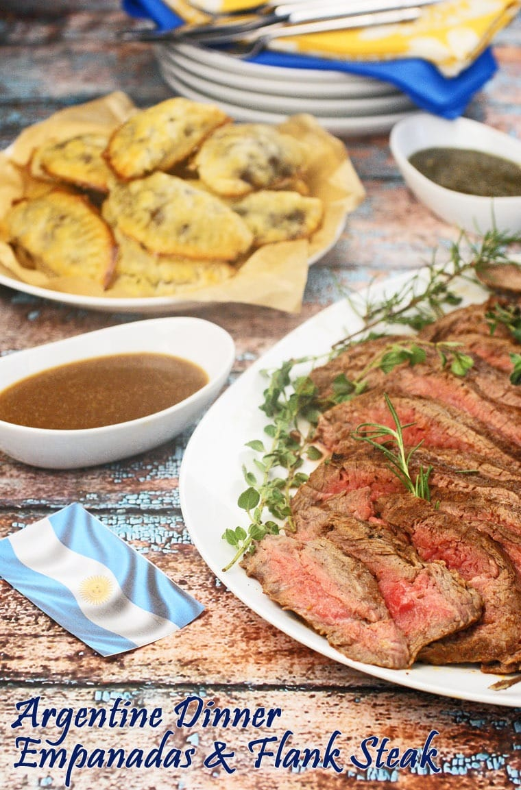 Gluten free Beef & Vegetable Empanadas and Marinated Flank Steak with gluten free gravy at This Mama Cooks! On a Diet - thismamacooks.com