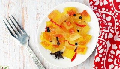 Spicy Watermelon Rind Pickles recipe