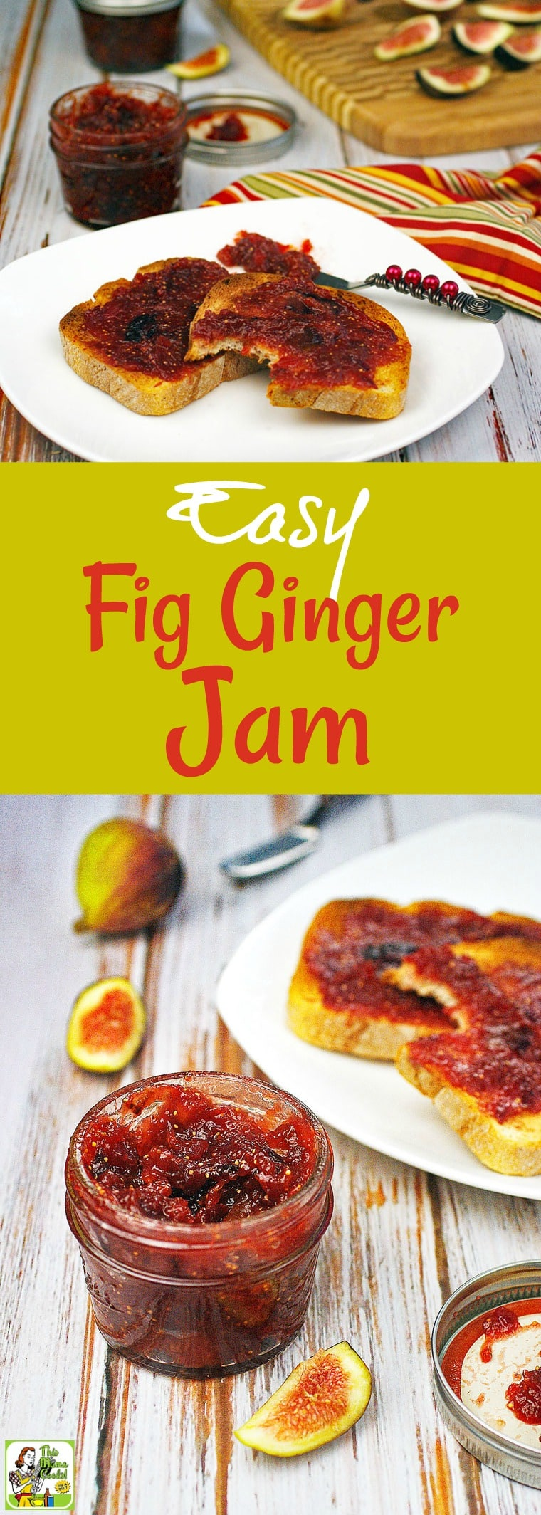 How to make an Easy Fig Ginger Jam recipe | This Mama ...