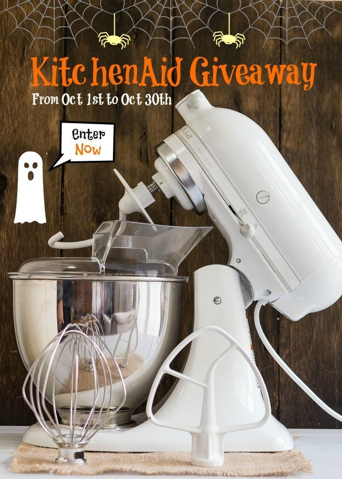 Win a Kitchen Aide Mixer or Nija 3-in-1 Cooking System at This Mama Cooks! On a Diet - thismamacooks.com