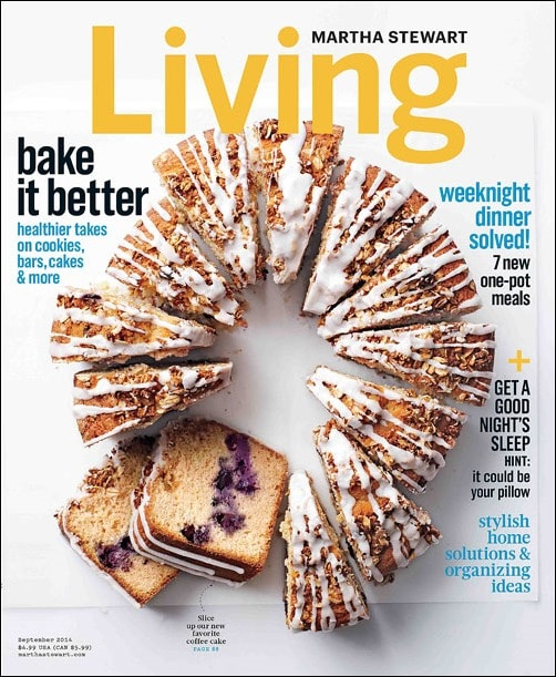 Recipes from the September 2014 issue of Martha Stewart Living at This Mama Cooks! On a Diet - thismamacooks.com
