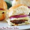 Slow Cooker Beef Brisket Sliders