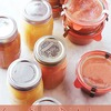 Canning Martha's Pink Applesauce