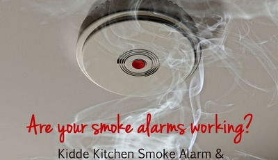 Are your smoke alarms working? {Kidde Kitchen Smoke Alarm and Kitchen Fire Extinguisher Giveaway–$80 value!}