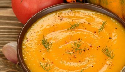 Healthy Vegetarian Pumpkin Soup