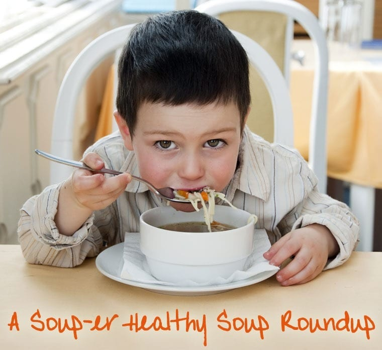 A Soup-er Healthy Soup Recipe Roundup of Gluten Free Soups at This Mama Cooks! On a Diet - thismamacooks.com