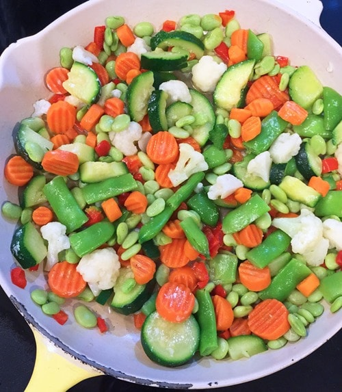 What I love about frozen vegetables is that they're washed, chopped, and ready to be added to your favorite recipes. Learn more at This Mama Cooks! On a Diet - thismamacooks.com