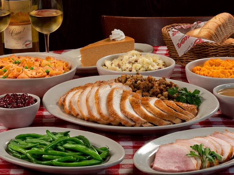 Not cooking this Thanksgiving? Head out to Buca di Beppo! Learn more at This Mama Cooks! On a Diet - thismamacooks.com