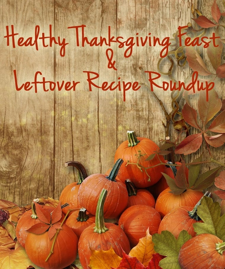 Healthy Thanksgiving Feast & Leftover Recipe Roundup at This Mama Cooks! On a Diet - thismamacooks.com