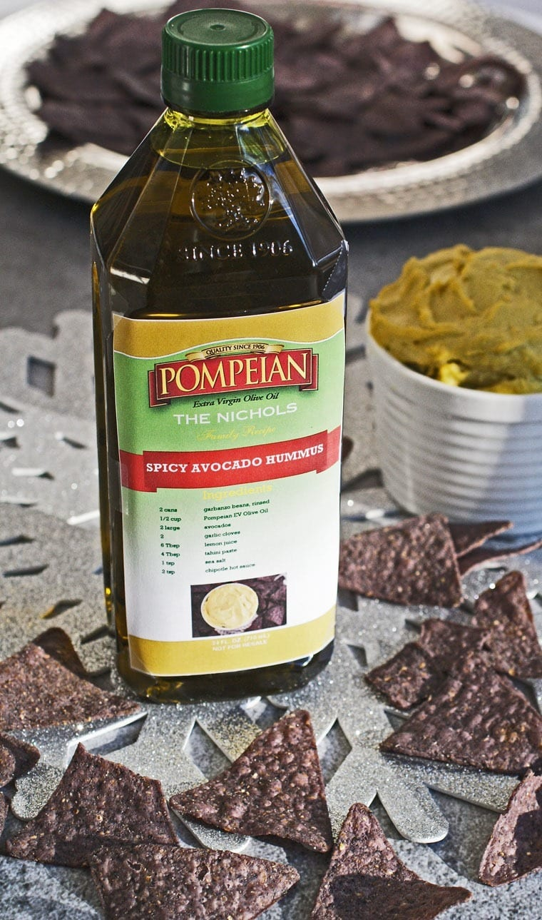 Create your own personalized bottle of Pompeian Extra Virgin Olive Oil with one of your most cherished family recipes! Learn how at This Mama Cooks! On a Diet - thismamacooks.com (sponsored)