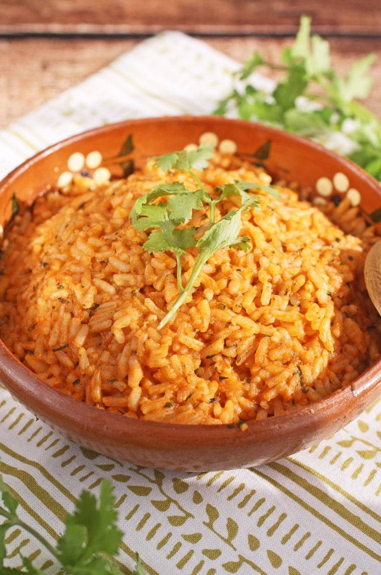 10 Minute Mexican Rice at This Mama Cooks! On a Diet - thismamacooks.com