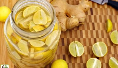 How to make Lime & Ginger Infused Vodka
