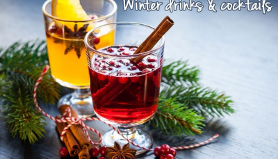 Warm up with these winter drinks & cocktails!