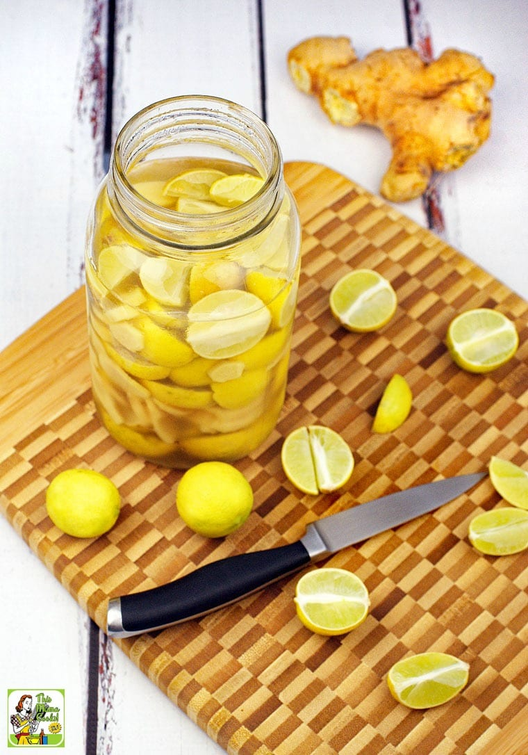 Lime & Ginger Infused Vodka recipe