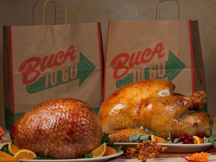 Have Buca di Beppo make you the office holiday party hero! Learn how at This Mama Cooks! On a Diet - thismamacooks.com