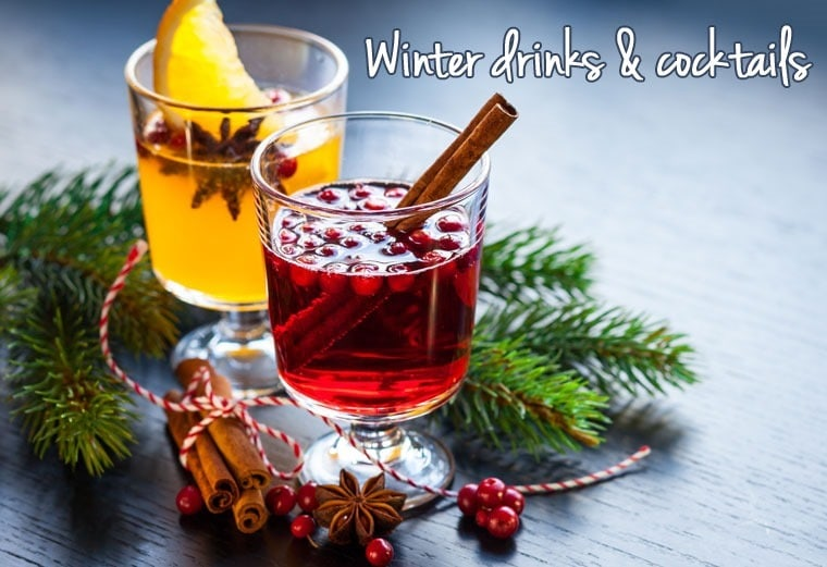 Warm up with these winter drinks & cocktails. Check out the recipe roundup at This Mama Cooks! On a Diet - thismamacooks.com