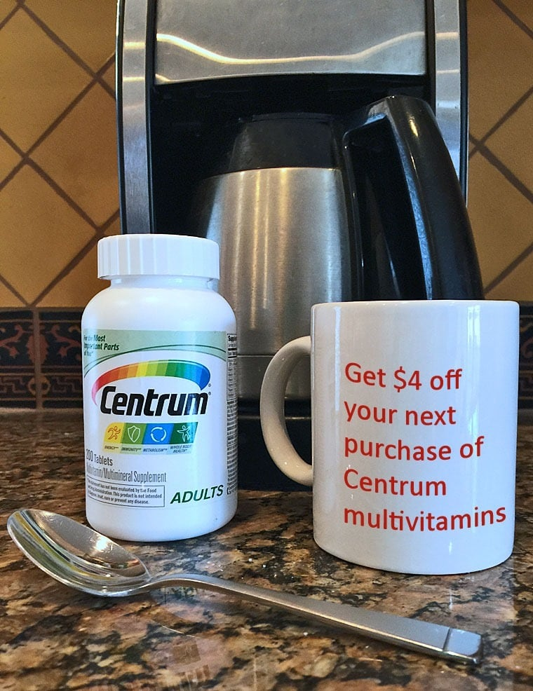 Start the New Year right with a $4 coupon off your next purchase of Centrum® multivitamins. Learn how at This Mama Cooks! On a Diet - thismamacooks.com