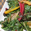 Sautéed Rainbow Chard with Malt Vinegar
