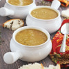 "Split Pea Soup with Slow Cooker Homemade ""Cheater"" Stock"