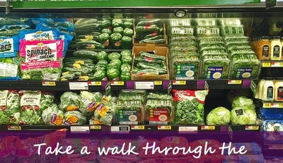Take a walk through the organic Marketside at Walmart