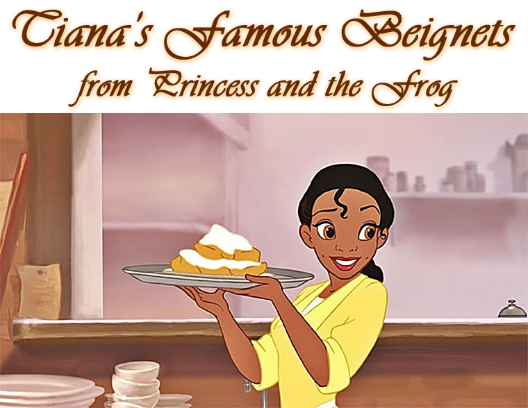 Tiana's Famous Beignets from the Disney movie, Princess and the Frog. Perfect for Mardi Gras, get the recipe at This Mama Cooks! On a Diet