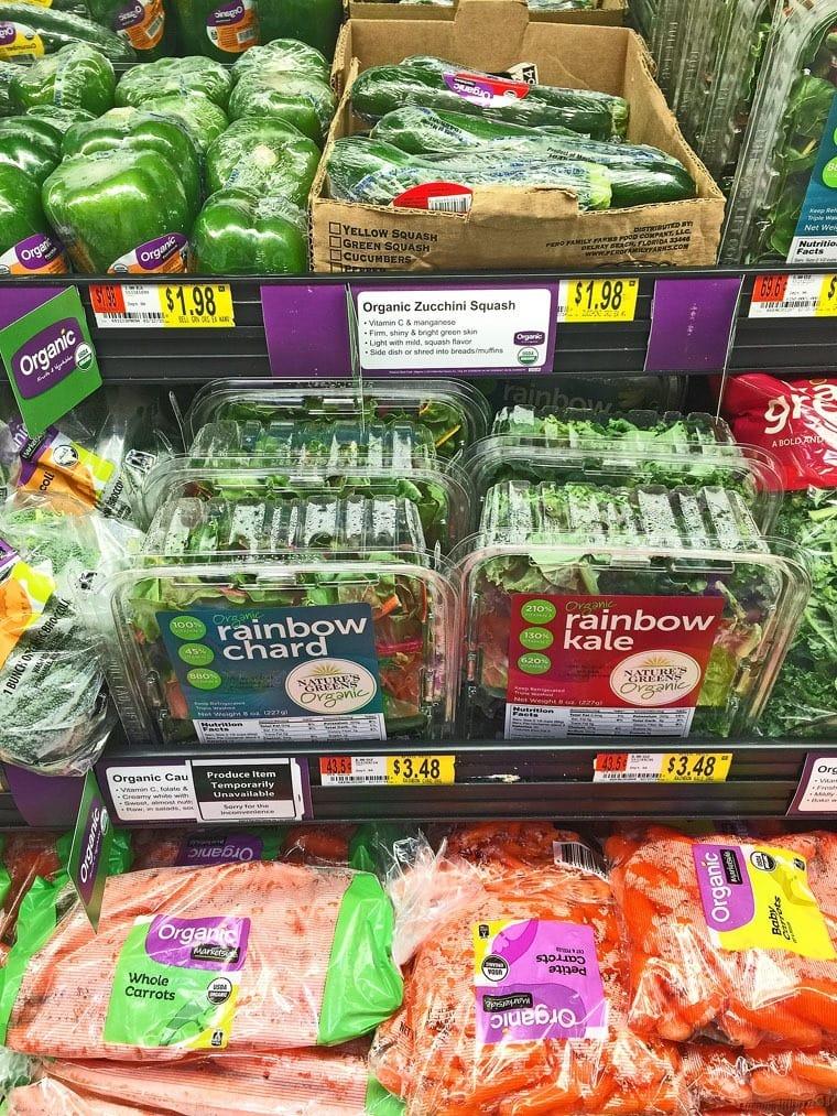 Organic Food Brands At Walmart