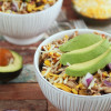 Slow Cooker Spicy Shredded Chicken with Black Beans & Corn