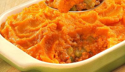 Sweet Potato Cottage Pie Casserole