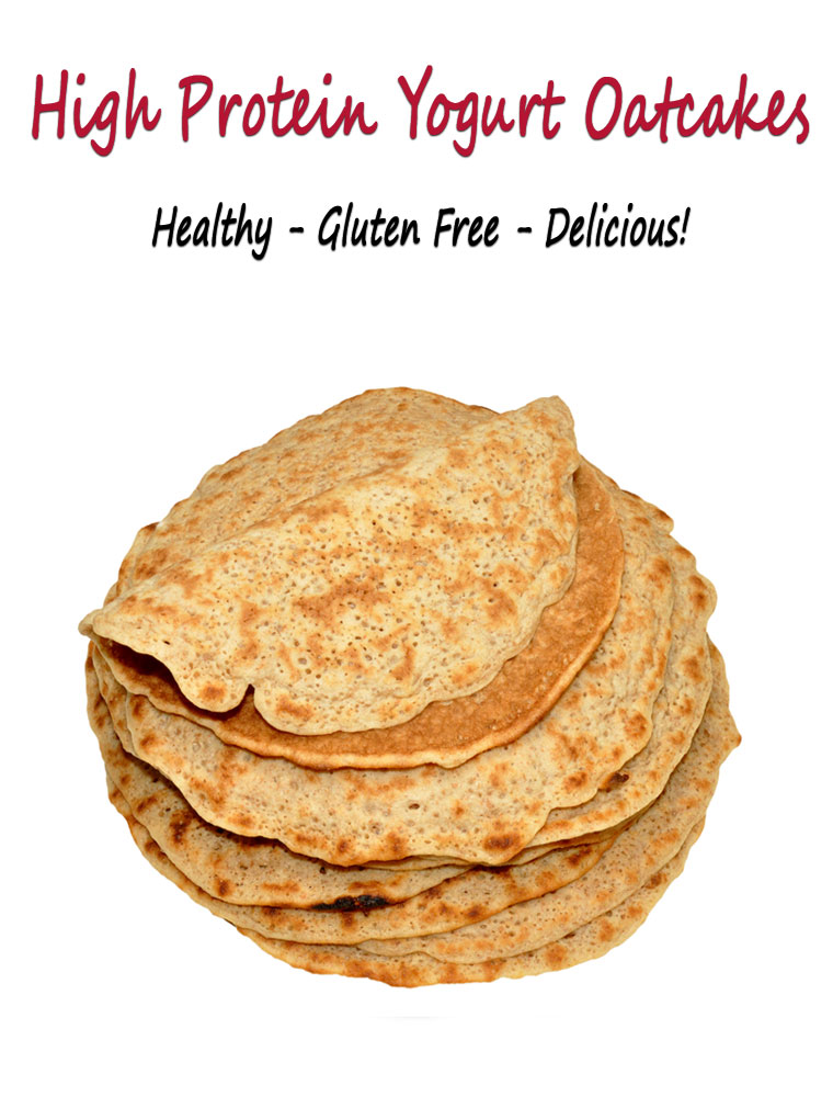 Get the gluten free High Protein Yogurt Oatcakes recipe at This Mama Cooks! On a Diet