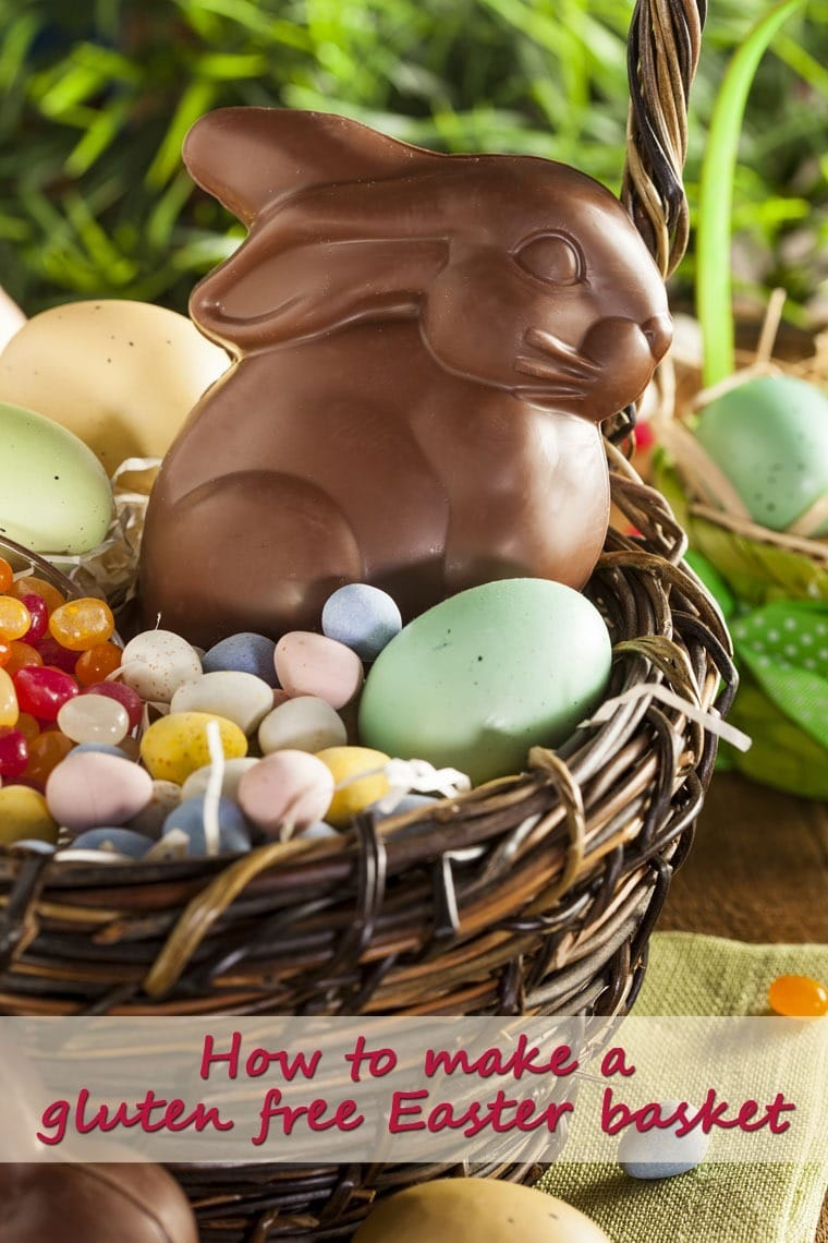 Learn how to make a gluten free Easter basket and what Easter candies are gluten free at This Mama Cooks! On a Diet - thismamacooks.com