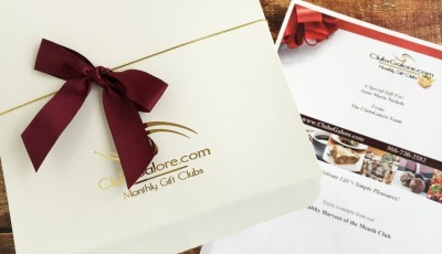 5 reasons why a gourmet gift of the month club from ClubsGalore makes a terrific Mother's Day gift
