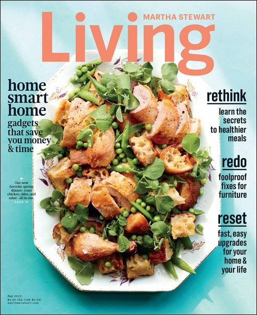 This Mama Cooks! On a Diet is featuring two gluten free recipes from Marthat Stewart Living's May 2015 issue this month. Check it out!