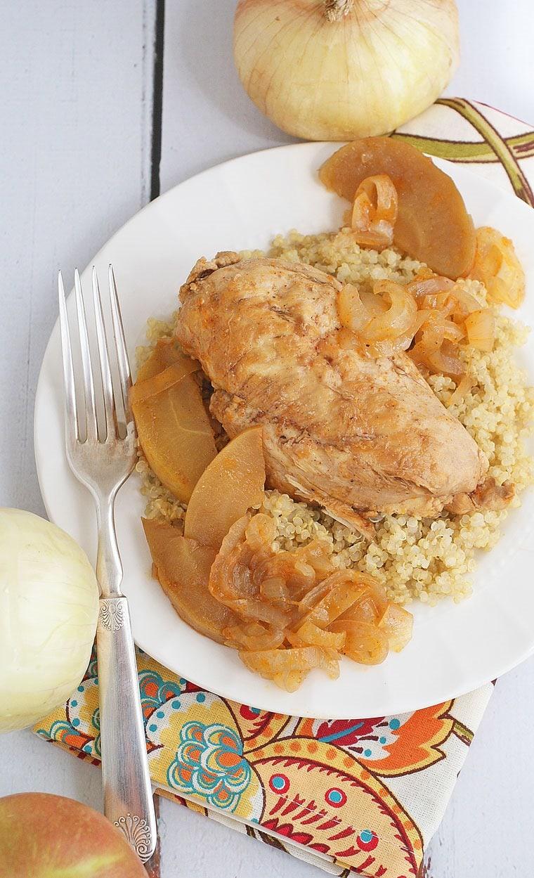 Chicken Normandy à la Marie-Celine. Get this easy one pot chicken ...