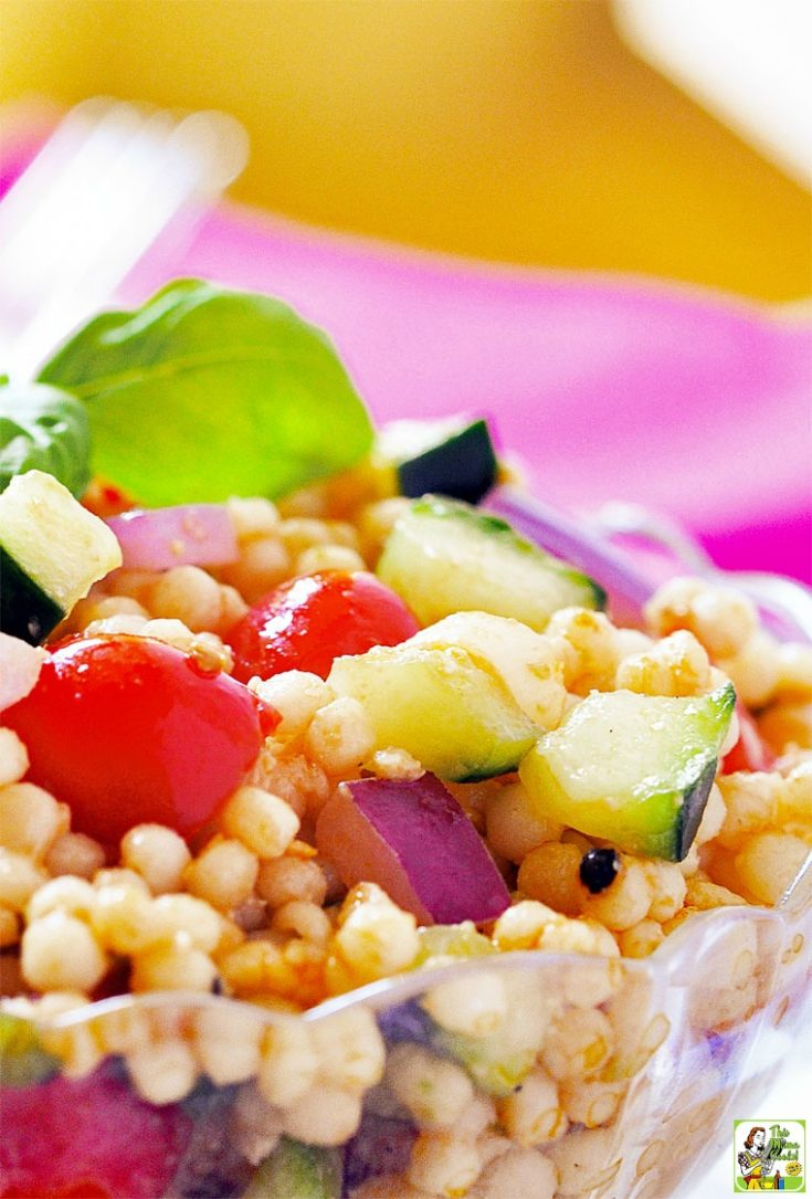 Bruschetta Couscous Salad Recipe