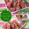 Mint & Basil Watermelon Salad with Feta