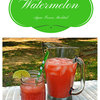 Watermelon Agua Fresca Mocktail