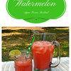 Watermelon Agua Fresca Mocktail