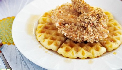 Gluten Free Chicken and Waffles Recipe.