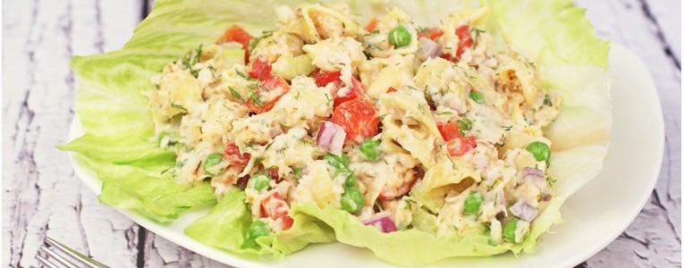 Gluten Free Retro Shrimp and Macaroni Salad