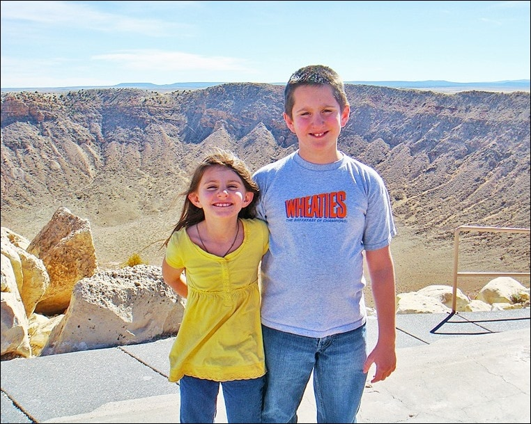 Go to Meteor Crater, Arizona. Then get Your Go Britches On with Andrew Zimmern and Big Country! Learn more at This Mama Cooks! On a Diet