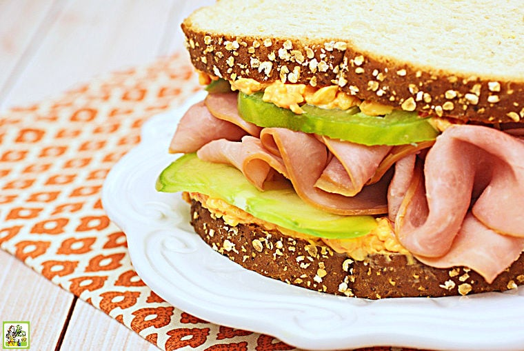 Ham & Pimento Cheese Sandwich Recipe.