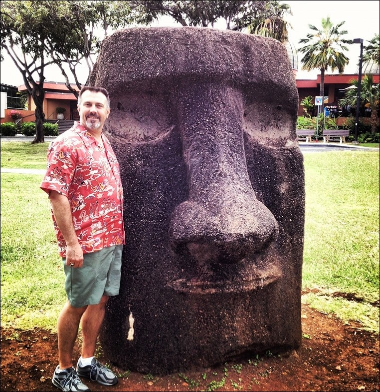 Go to Hawaii. Then get Your Go Britches On with Andrew Zimmern and Big Country! Learn more at This Mama Cooks! On a Diet