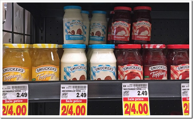 Get dairy free Smucker's® at Krogers. Learn more at This Mama Cooks! On a Diet