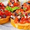 Tomato Bruschetta Appetizer