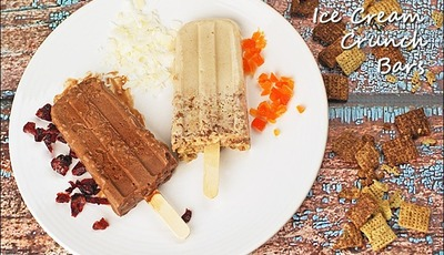 Gluten Free Ice Cream Crunch Bars