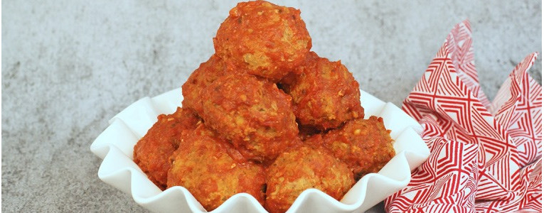 Gluten Free Slow Cooker Turkey Meatballs